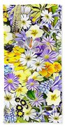 Naturalness And Flowers 54 Beach Towel