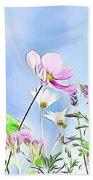 Naturalness And Flowers 59 Beach Sheet