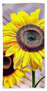 Naturalness And Flowers 60 Beach Towel