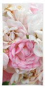 Natures Wedding Bouquet Beach Towel