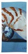 Nautilus Beach Towel