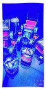Neon Bar Beach Sheet