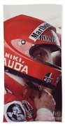 Niki Lauda. 1976 United States Grand Prix Beach Sheet
