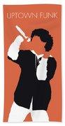 No223 My Bruno Mars Minimal Music Poster Beach Sheet