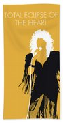No264 My Bonnie Tyler Minimal Music Poster Beach Towel