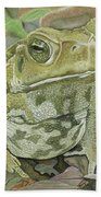 Noble Toad Beach Towel