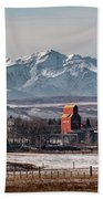 November Nanton Beach Towel by Brad Allen Fine Art