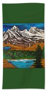 Number Four - Call Of The Wild Beach Towel