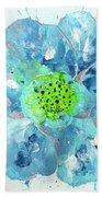 Oceanbreeze Blue-green Windflower Beach Sheet