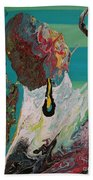 Once Upon A Planet Beach Towel