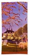 Opryland Hotel Christmas Beach Towel
