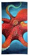 Optical Octopus Beach Towel