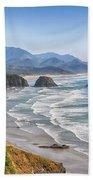 Oregon Coastline Beach Towel
