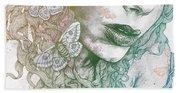Ornaments - Rainbow II Beach Towel