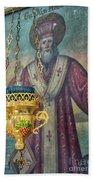 Orthodox Icon Beach Towel