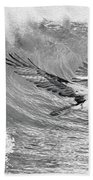 Osprey The Catch Bw Beach Towel