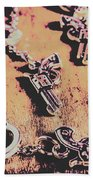Outlaw Frontiers Beach Towel