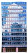 Painted City Beach Towel by Robert FERD Frank