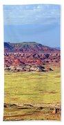Painted Desert Panorama Beach Towel