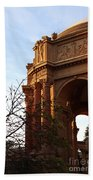 Palace Of Fine Arts At Sunset Beach Towel