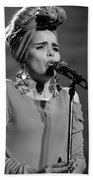 Paloma Faith Live At Manchester Apollo 2013 January 24th Beach Towel