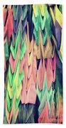 Paper Cranes Beach Sheet