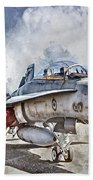 Parked Hornet Beach Towel by Brad Allen Fine Art