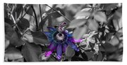 Passion Flower Only Beach Towel