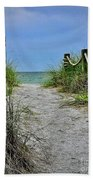 Pathway To The Beach Beach Towel