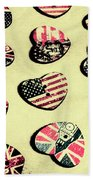 Patriotic Picks Beach Towel