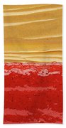 Peanut Butter And Jelly Beach Towel