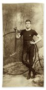 Penny Farthing - High Wheel - Ordinary   Beach Towel