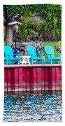 Pick A Seat Beach Towel