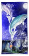 Pisces Beach Towel by Mark Taylor