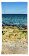 Pointe Du Hoc Panorama Beach Towel