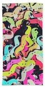 Pop Art Moes Beach Towel