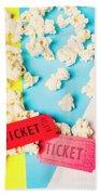 Popcorn Culture Beach Towel