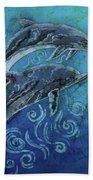 Porpoise Pair Beach Towel
