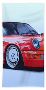 Porsche 964  Beach Towel
