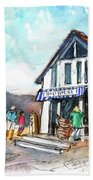 Port Isaac 03 Beach Towel by Miki De Goodaboom