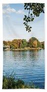Potsdam - Havel River / Glienicke Bridge Beach Sheet