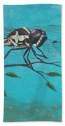 Praying Dragonfly Beach Towel