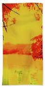 Psychedelic Lake Beach Towel