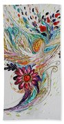 Pure Abstract #4. Trumpeting Angel Beach Towel