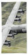 Raf C-130 Hercules 1 Beach Towel