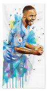 Raheem Sterling, Manchester City Beach Towel