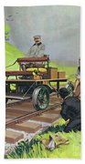 Railway Automobile Beach Sheet