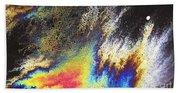 Rainbow Explosion Beach Towel
