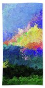 Rainbow Mountain - Breaking The Gridlock Of Hate Number 5 Beach Towel