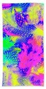 Rainbow Radiance Beach Towel